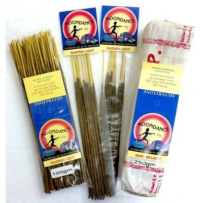 MOONDANCE Quality Incense GUIDING LIGHT 250g BULK INCENSE FAST SHIPPING SMUDGE