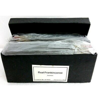 HANDMADE Incense - REAL FRANKINCENSE BULK INDIAN INCENSE FAST SHIPPING - SAVE!