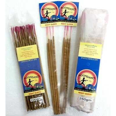 MOONDANCE Quality Incense NIGHT QUEEN 100g BULK INCENSE FAST SHIPPING SMUDGE