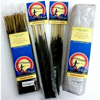 MOONDANCE Quality Incense FRANKINCENSE 100g BULK INCENSE FAST SHIPPING SMUDGE