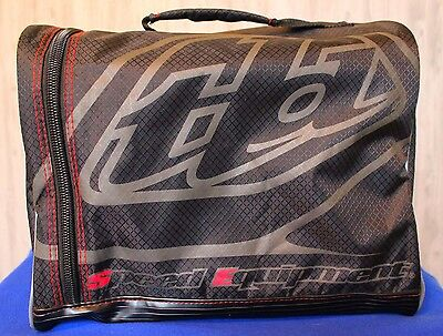 Troy Lee Designs Premium Plush Lined Helmet Bag Full Face Mx Atv Utv Speed