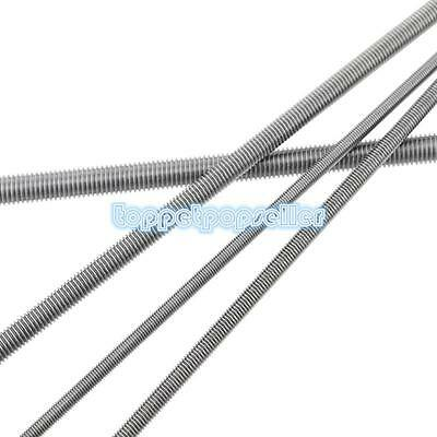 1Pc M4-M24 304Stainless Steel Threaded Thread