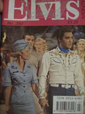 Elvis Monthly UK Booklets- 33rd Year -1992- 6 Issues- #390/391/392/393/394/395