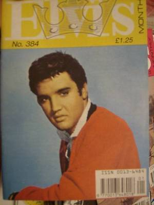 Elvis Monthly UK Booklets- 33rd Year -1992- 6 Issues- #384/385/386/387/388/389