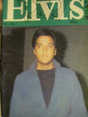 Elvis Monthly UK Booklets- 25th Year -1984- 6 Issues- #294/295/296/297/298/299