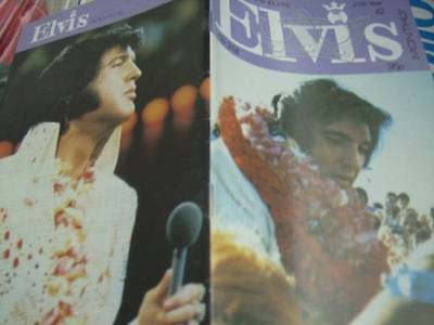 Elvis Monthly UK Booklets- 27th Year -1986- 6 Issues- #318/319/320/321/322/323