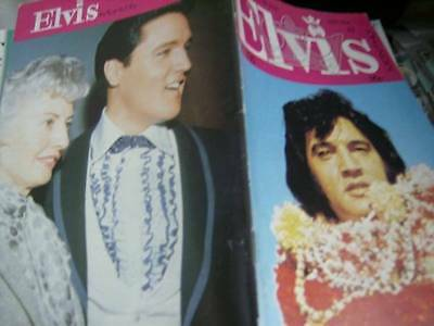 Elvis Monthly UK Booklets- 28th Year -1987- 6 Issues- #330/331/332/333/334/335