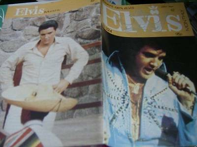 Elvis Monthly UK Booklets- 28th Year -1987- 6 Issues- #324/325/326/327/328/329