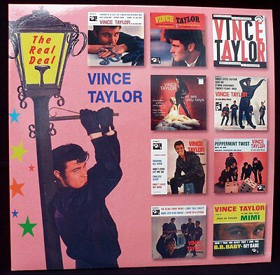 """Vince Taylor - 'the Real Deal' Great Quality 12"""" Vinyl Lp"""