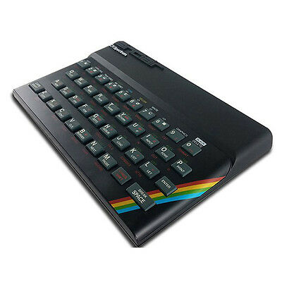 The Recreated Sinclair ZX Spectrum Gaming System with Free Games & Free Web App