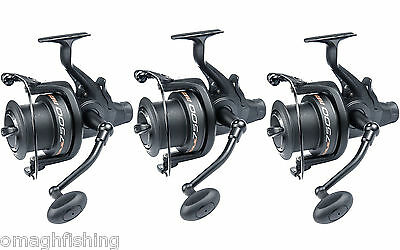 3 X Leeda Rogue 7500 Freespool/Baitrunner Reel*Carp Pike Long Cast Fishing Reel