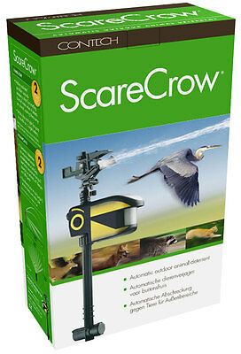 Contech Scare Crow Garden Motion Activated Water Sprinkler Animal Deterrent
