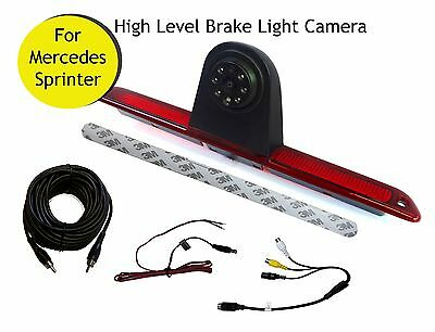 Mercedes Benz Sprinter Van Reversing Reverse Camera Brake Light 2007 - Present