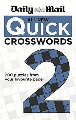 Daily Mail: All New Quick Crosswords 2 (The Daily Mail Puzzle - 0600626539