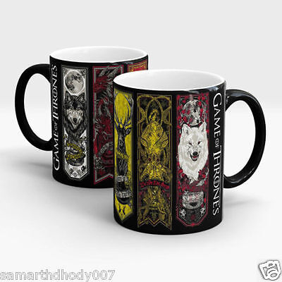 Game of Thrones Mug, Magic Mug, Color Changing Mug