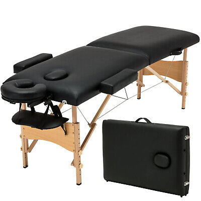 "84""L Fold Massage Table Facial SPA Beauty Bed Tattoo with Free Carry Case"