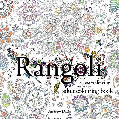 Rangoli: Stress-Relieving, Art Therapy Adult Colouring Book - 1782262342