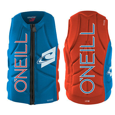 2016 O'Neill Slasher Mens Zip Padded  Vest 3 Colours