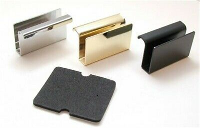 Selby Hardware Glass Door Handles Black, PartNo TK150S, by Selby Hardware