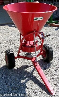 New Hollow SP150 Pull Type Spreader/Seeder --Can ship cheap! Just ask!