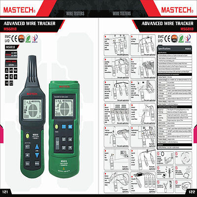 MASTECH MS6818 Mastech Wire Cable Metal Break Locator Tester MS-6818 from CA,US