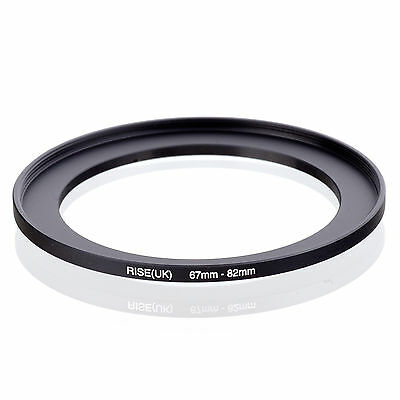 67mm to 82mm 67-82 67-82mm67mm-82mm Stepping Step Up Filter Ring Adapter