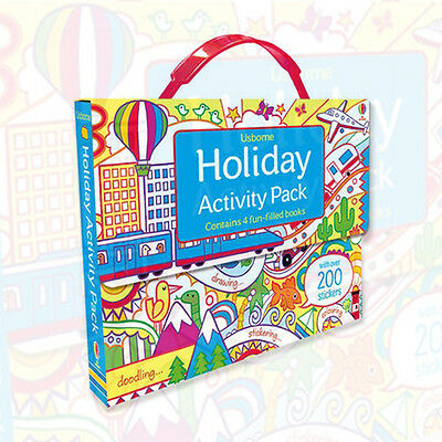 Holiday Activity Pack (Usborne Activity Packs) Paperback 9781409567691, New