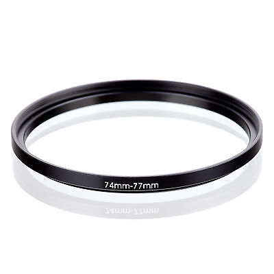 74mm to 77mm 74-77 74-77mm74mm-77mm Stepping Step Up Filter Ring Adapter
