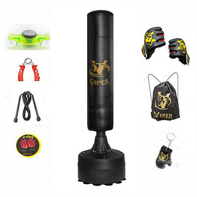 6ft Boxing Free Standing Punch Bag Training Mma Kick Gym 100% Delivery B4 X-Mas