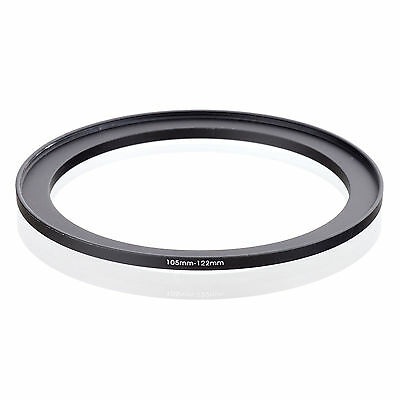 105mm to 122mm 105-122 105-122mm105mm-122mm Stepping Step Up Filter Ring Adapter