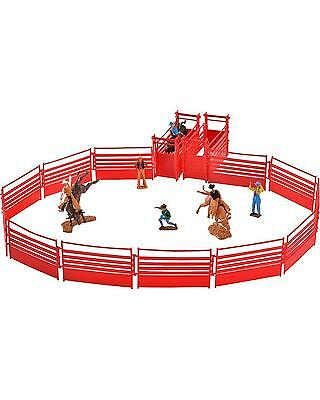 Bigtime Rodeo Bull Rider and Rodeo Set Brown One Size