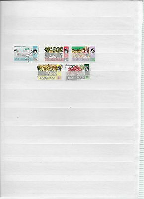 Nice set of Bahamas Stamps (lot4)
