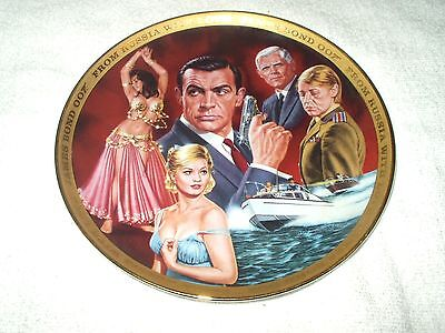 Franklin Mint Collector's Plate James Bond From Russia With Love