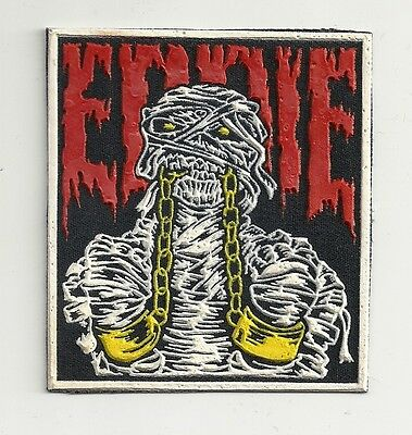 EDDIE Iron Maiden synthetic rubber patch RARE