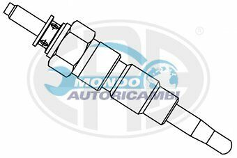 Candeletta Accensione Nissan Pick Up (720) 2.5 D 4Wd 53Kw 72Cv 04/1983>03/86