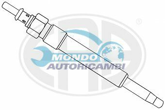 CANDELETTA ACCENSIONE MERCEDES-BENZ CLASSE S (W140) S 300 Turbo-D (140.135) 130K