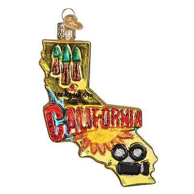 """""""State of California"""" (36188) Old World Christmas Ornament"""