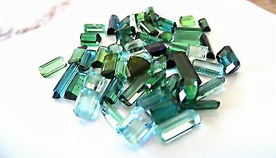 10+ Carats Of Multicolour Natural Tourmaline