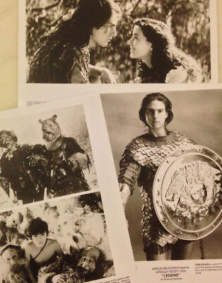 LEGEND (1985) Press Kit Photos; Tom Cruise, Mia Sara; Fantasy