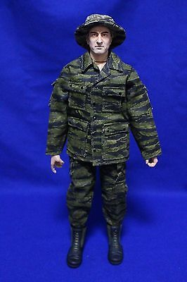12 inch or 1/6th scale Toy Action Figure with Vietnam Tiger Strip Uniform