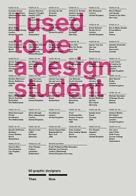 I Used to Be a Design Student by Billy Kiosoglou Paperback Book (English)