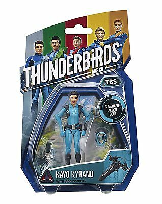 """Vivid Imaginations 90314 """"Thunderbirds Are Go"""" Kayo Action Figure Toy Game Kids"""