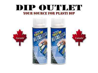 Performix Plasti Dip Silver Metalizer (2 Cans) - No Tax - Canada