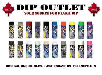 Plasti Dip Cans - Lots Of Colours - No Tax - Canada