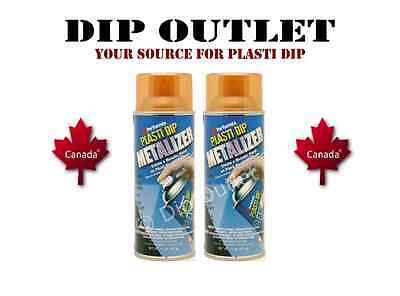 Performix Plasti Dip Copper Metalizer (2 Cans) - No Tax - Canada