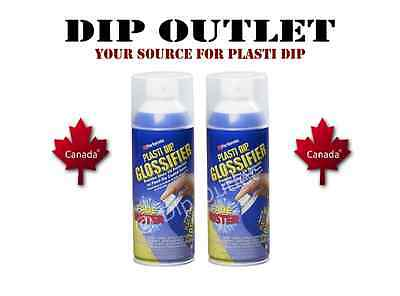 Performix Plasti Dip Glossifier (2 Cans) - No Tax - Canada