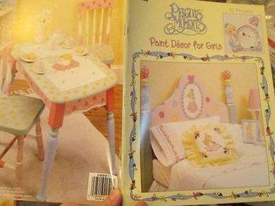 Precious Moments Paint Decor For Girls Painting Craft Book-15 Projects