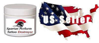 Tattoo Removal Cream Natural Fading system wrecking balm 2 week 10 round cottons