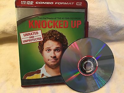 """HD DVD MOVIE-""""Knocked Up""""-Unrated!-Widescreen-Seth Rogen; Katherine Heigl-EX"""