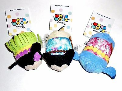 NEW DISNEY STORE Hawaii Exclusive Tsum Tsum Mickey Minnie Stitch NWT